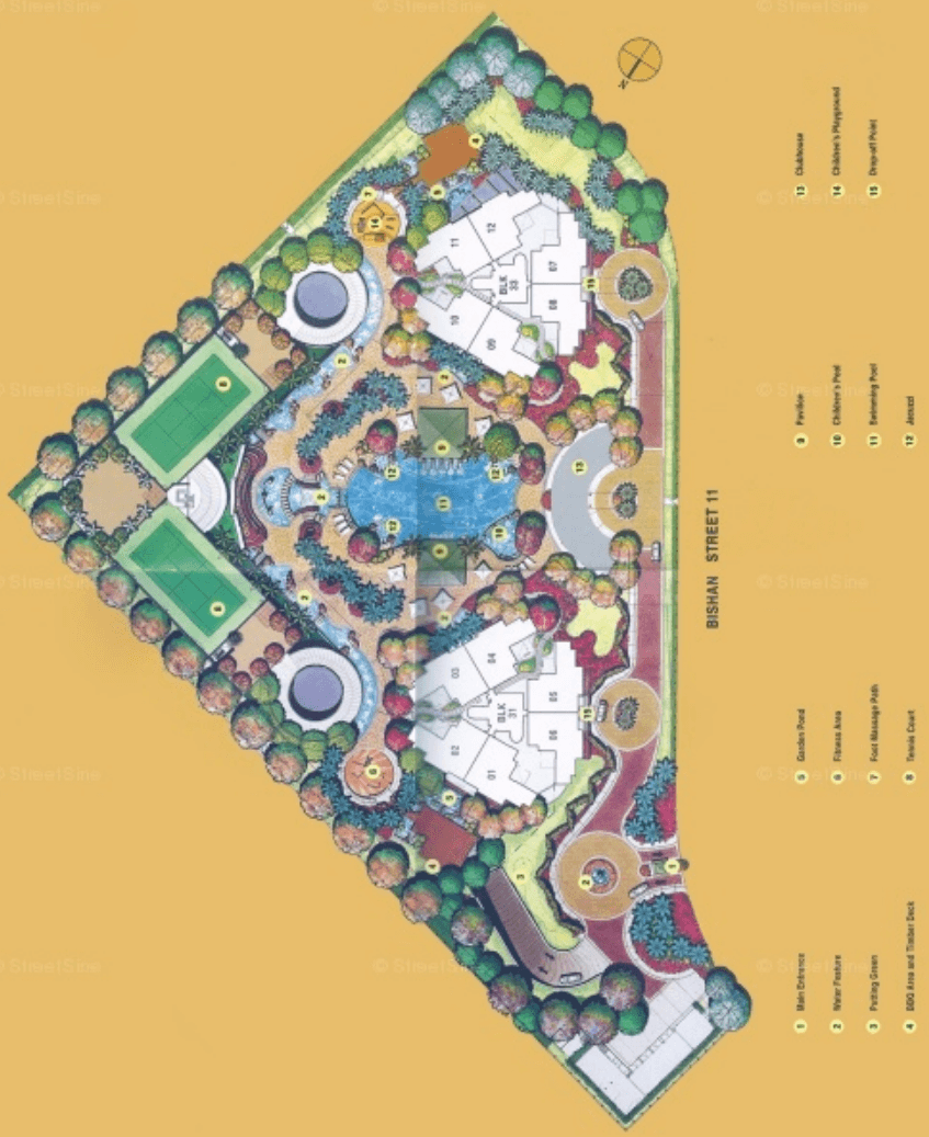 Bishan Loft EC-Site-Plan