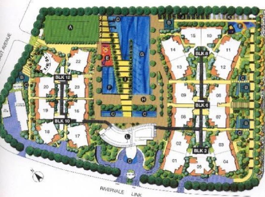 Park Green Site Plan
