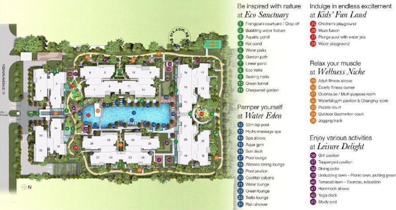 The Canopy EC Site Plan