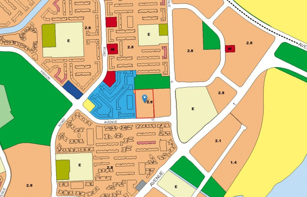 The Canopy EC URA Map