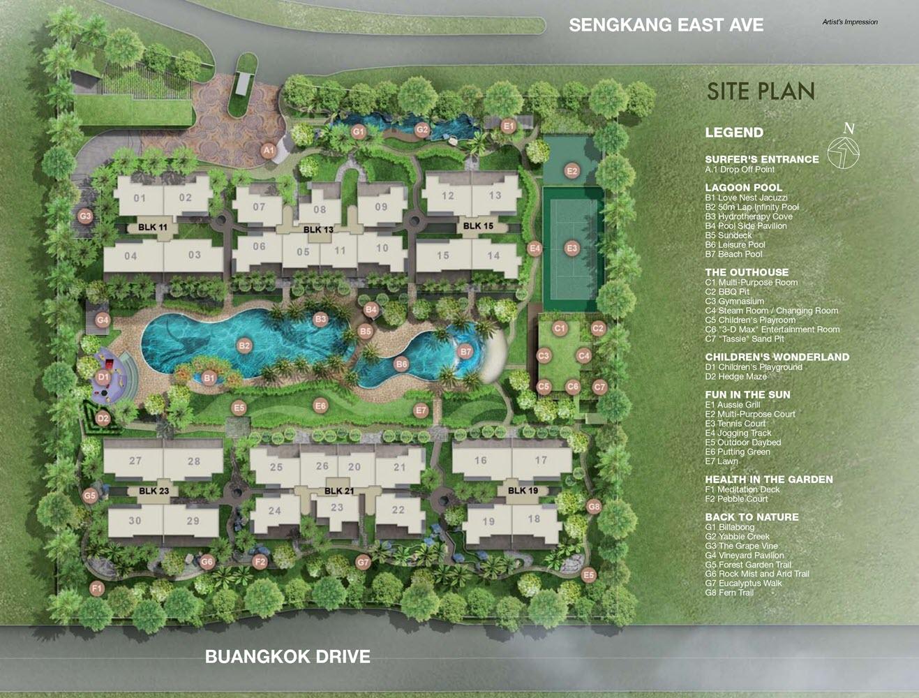 Austville Residences EC Site Plan