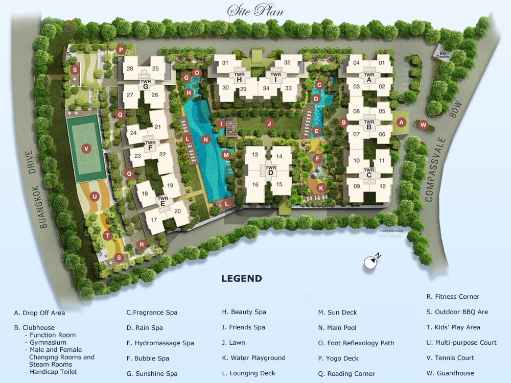 Esparina Residences EC Site Plan