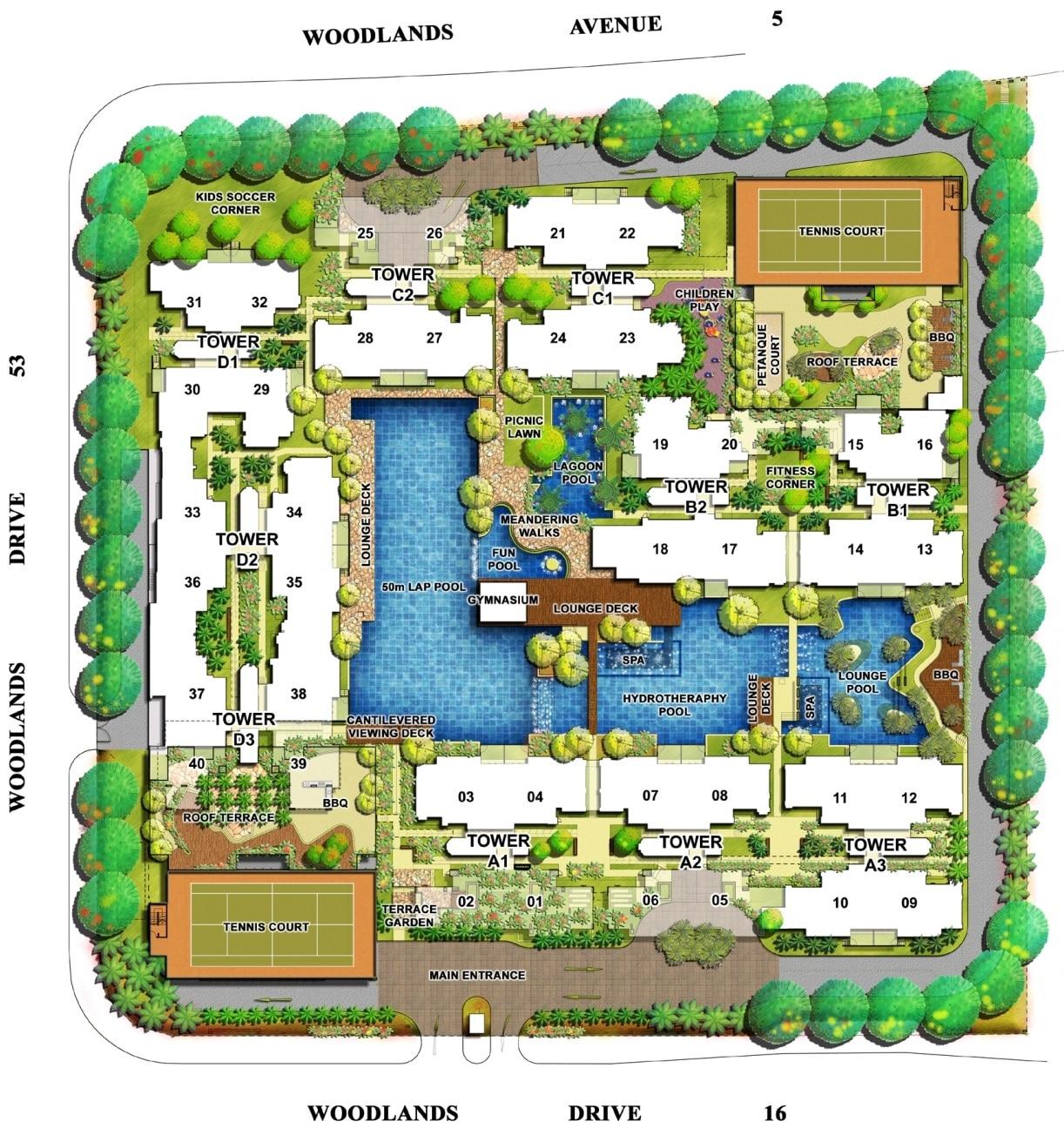 LA Casa EC Site Plan