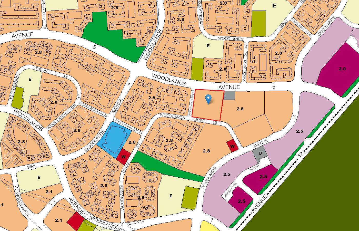 LA Casa EC URA Map