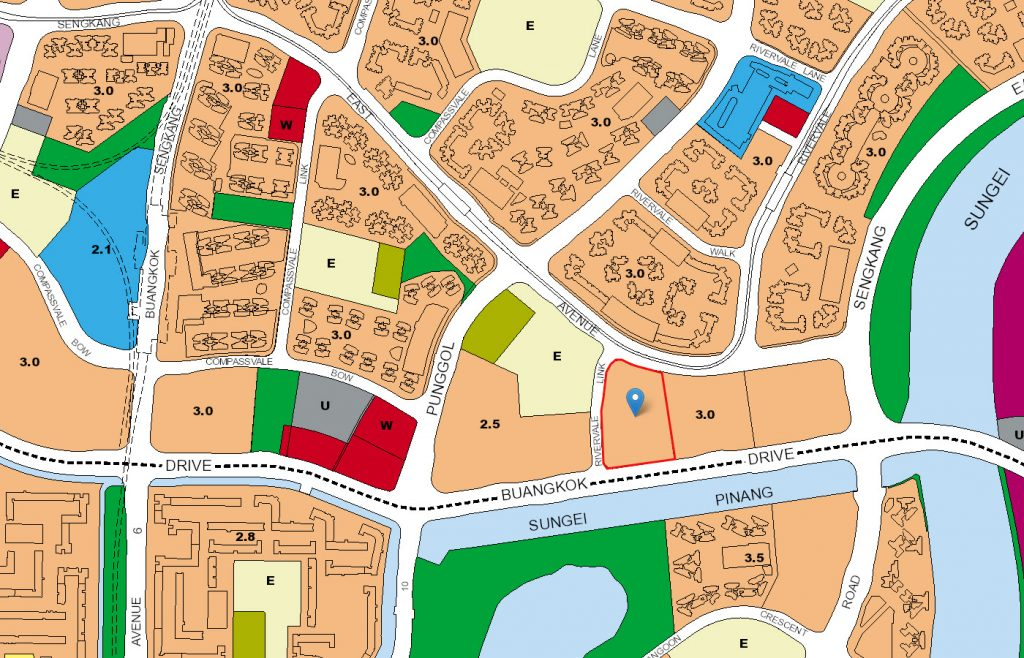 Park Green EC URA Map
