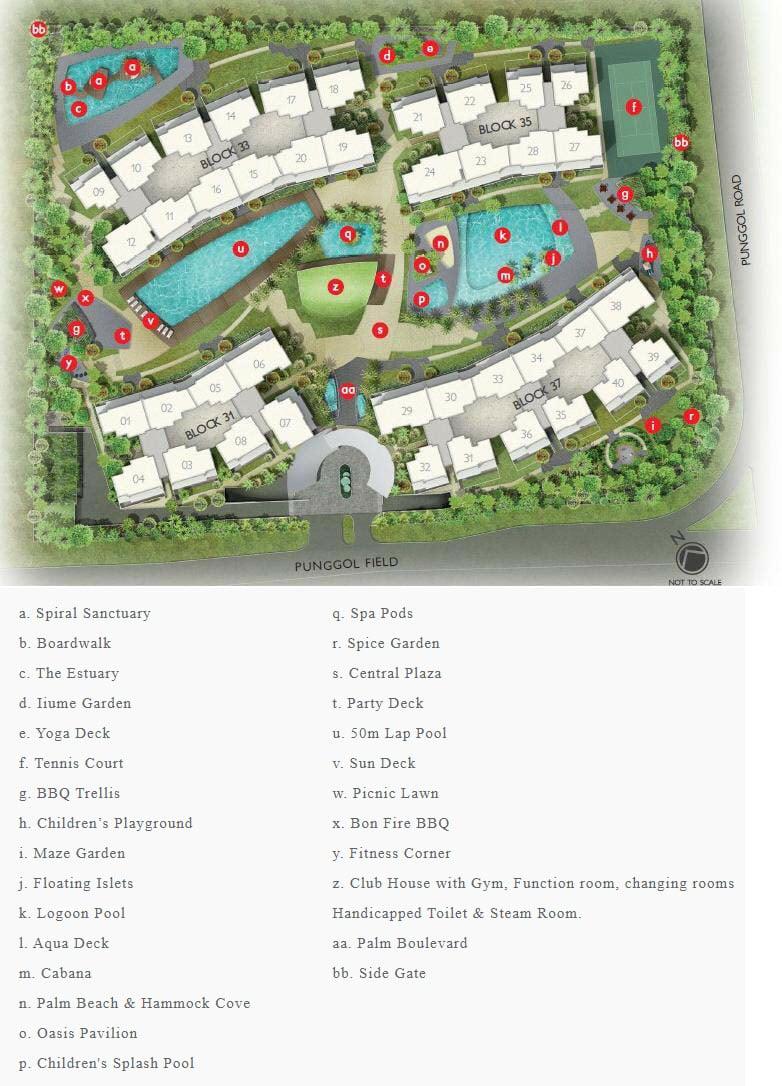 Prive EC Site Plan