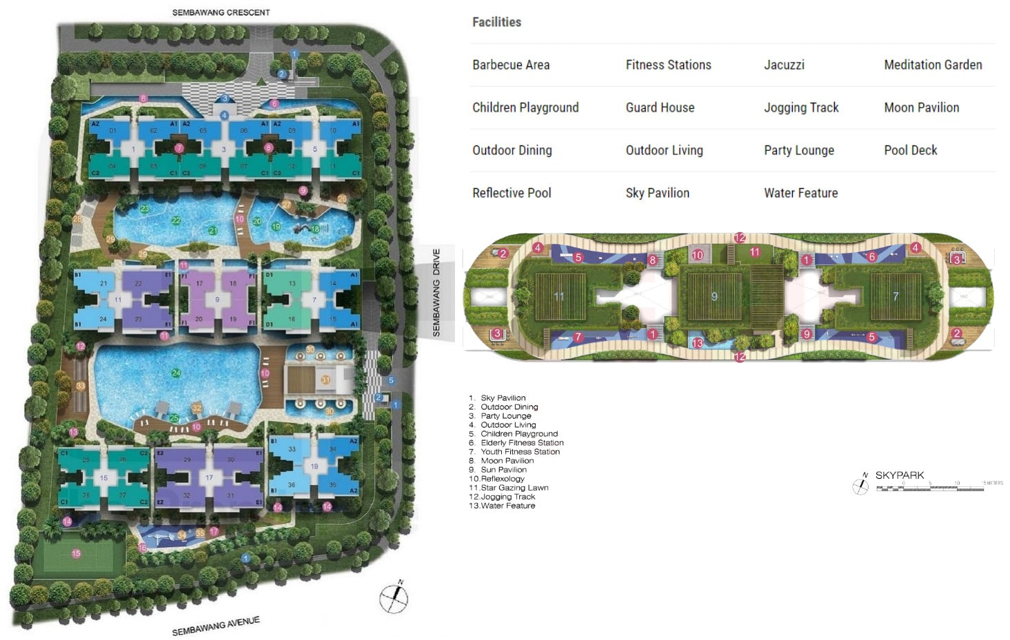 Skypark Residences EC Site Plan