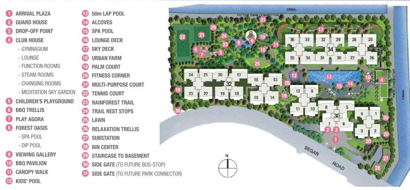 Blossom Residences EC Site Plan