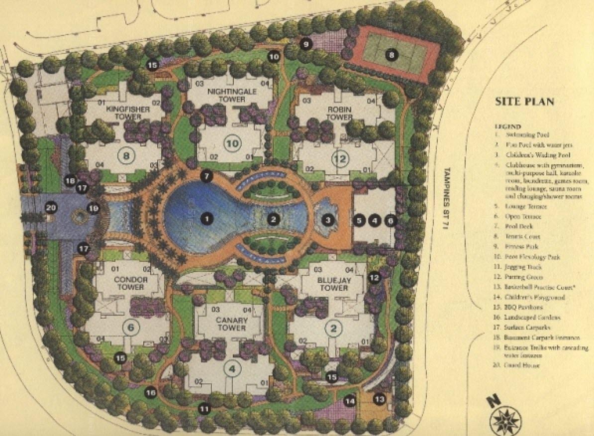 Pinevale EC Site Plan