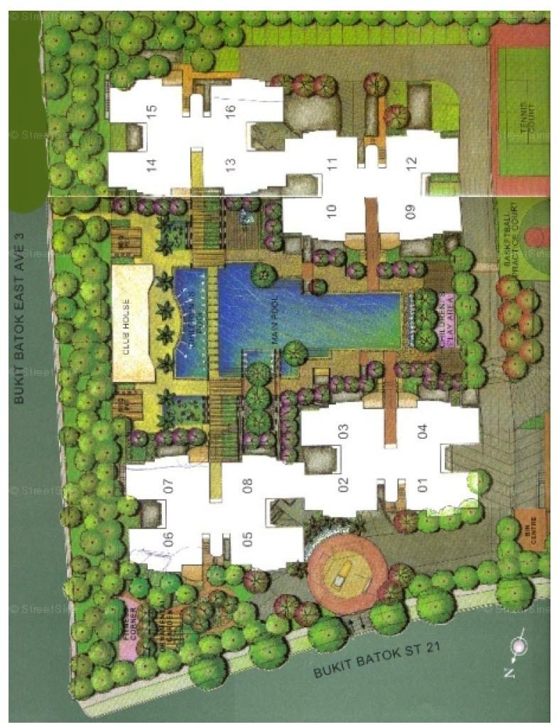 The Dew EC Site Plan