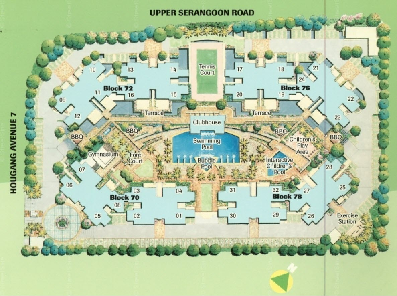 The Florida EC Site Plan