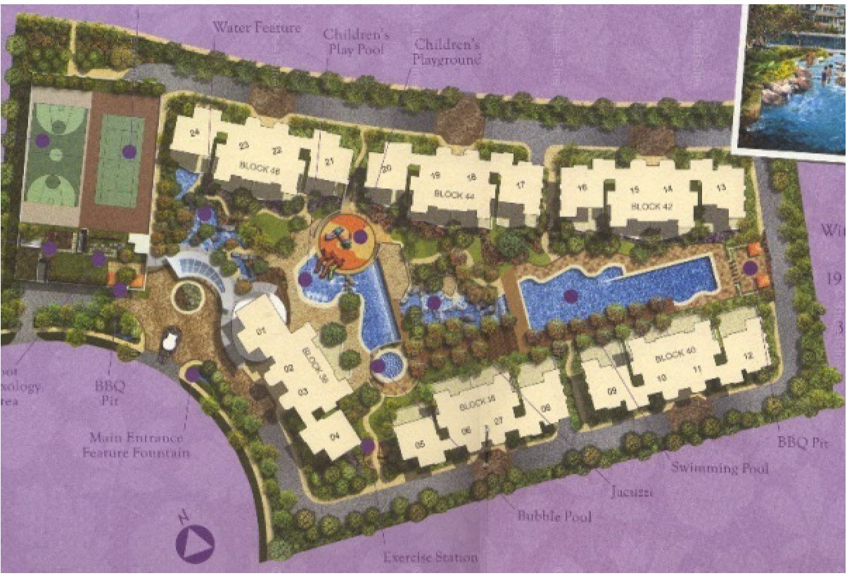 The Quintet EC Site Plan