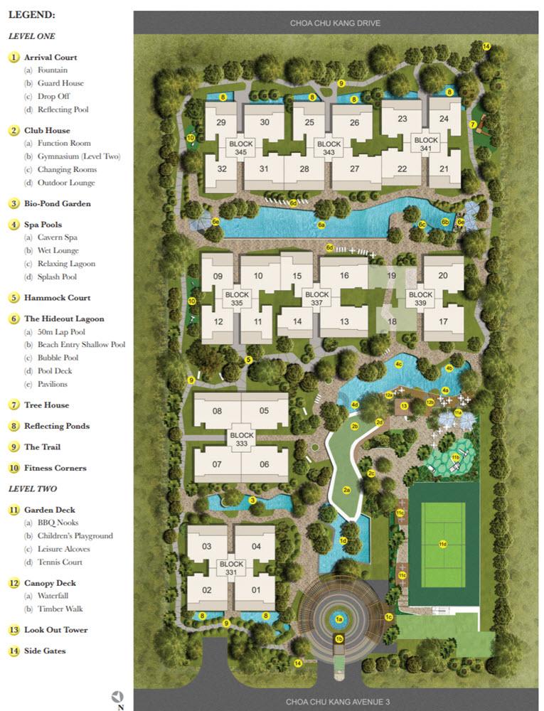 The Rainforest EC Site Plan