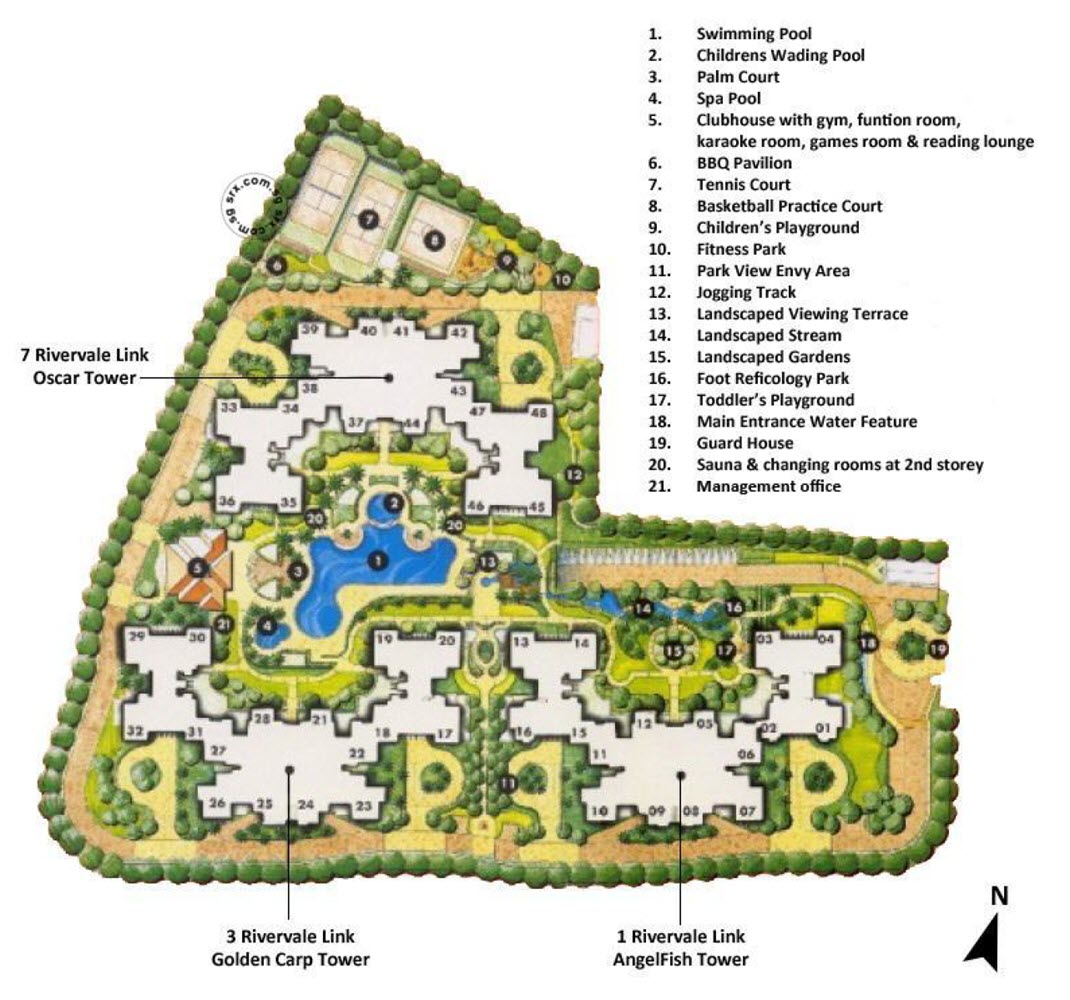 The Rivervale EC Site Plan