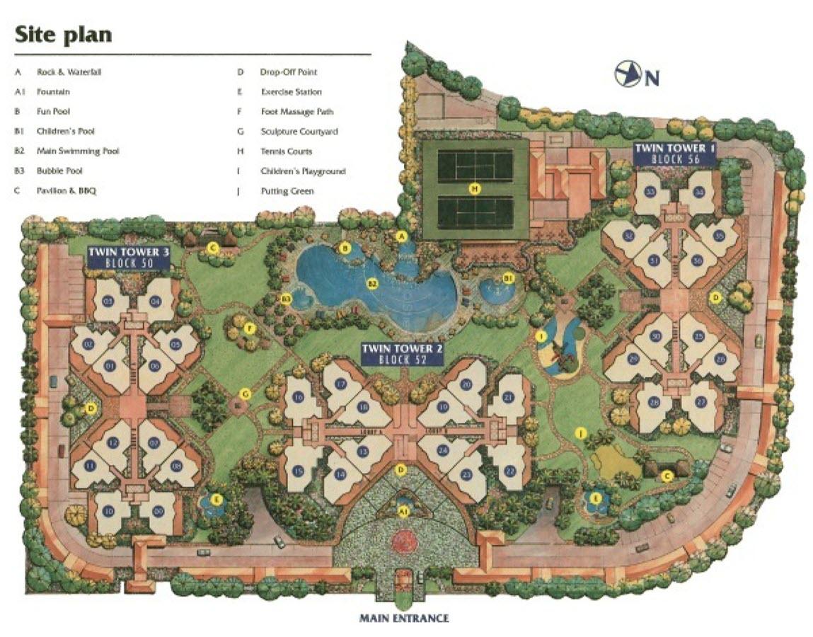 Yew Mei Green EC Site Plan
