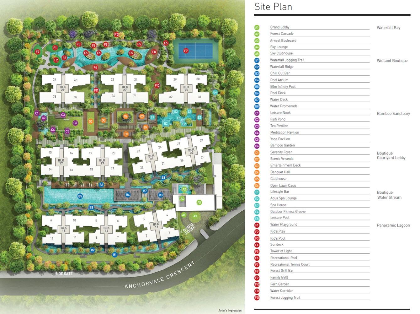 BelleWaters EC Site Plan