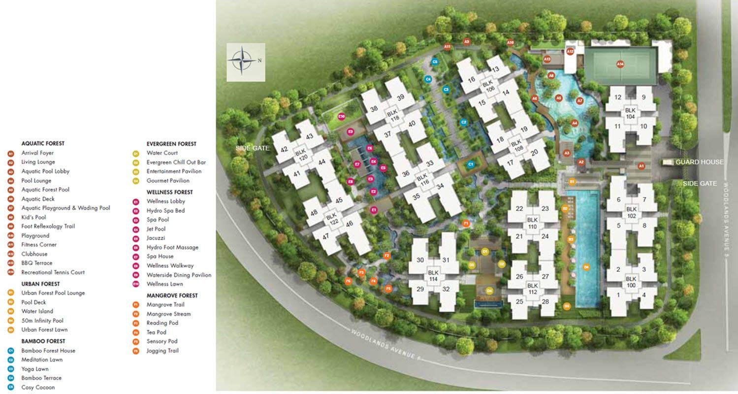 BelleWoods EC Site Plan