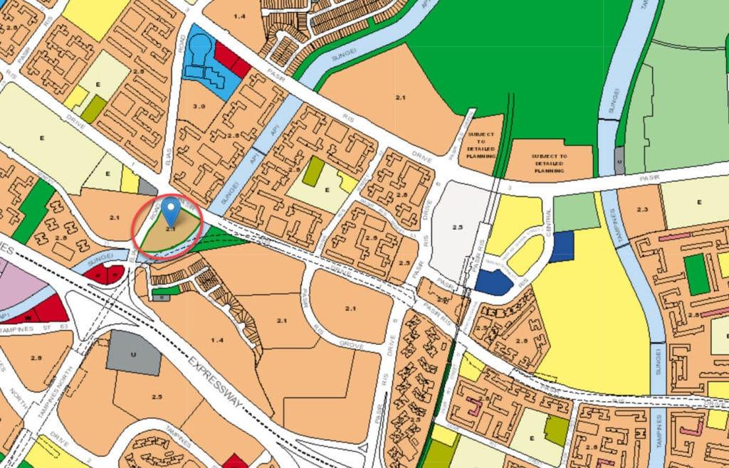 Belysa EC URA Master Plan Map