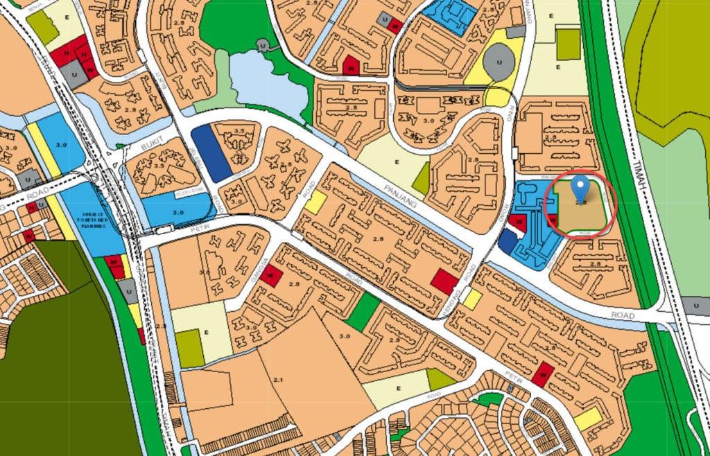 Chestervale EC URA Master Plan Map
