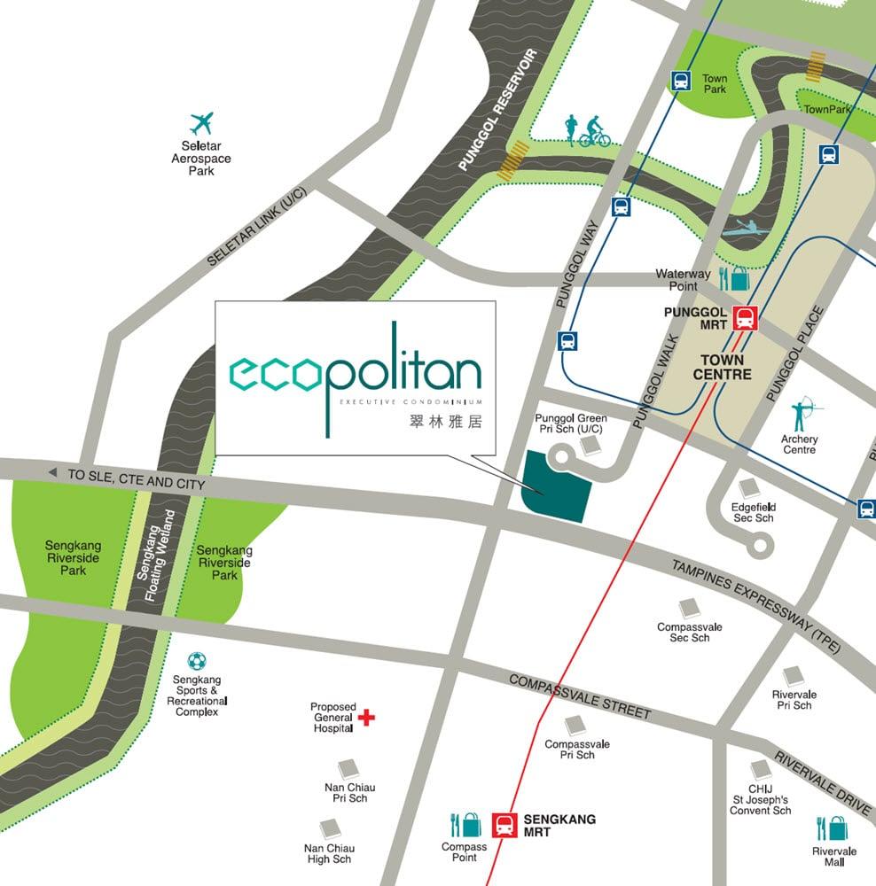 Ecopolitan EC Location Map
