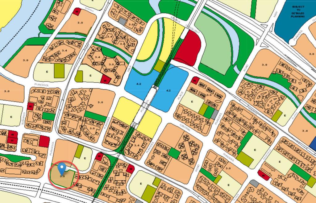 Ecopolitan EC URA Master Plan Map