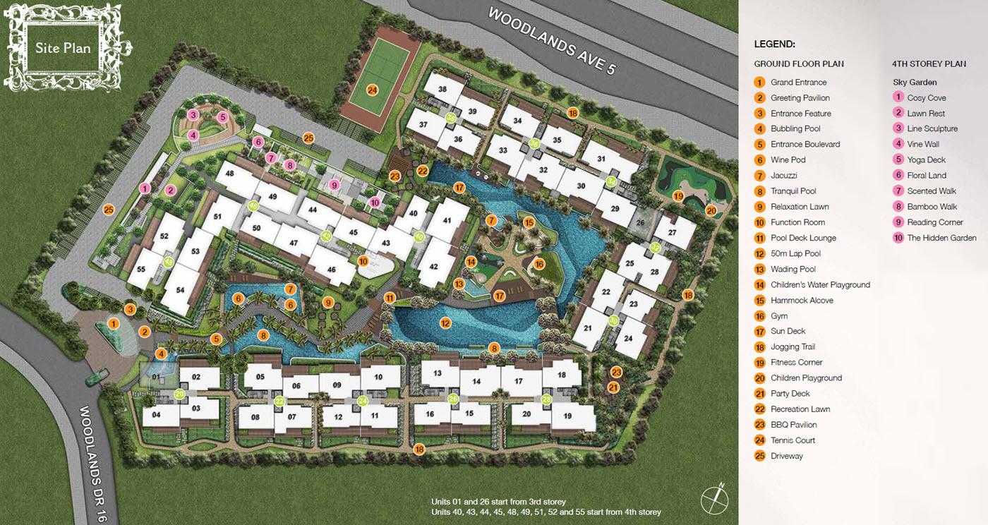 Forestville EC Site Plan