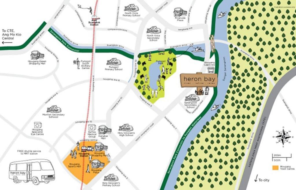 Heron Bay EC Location Map