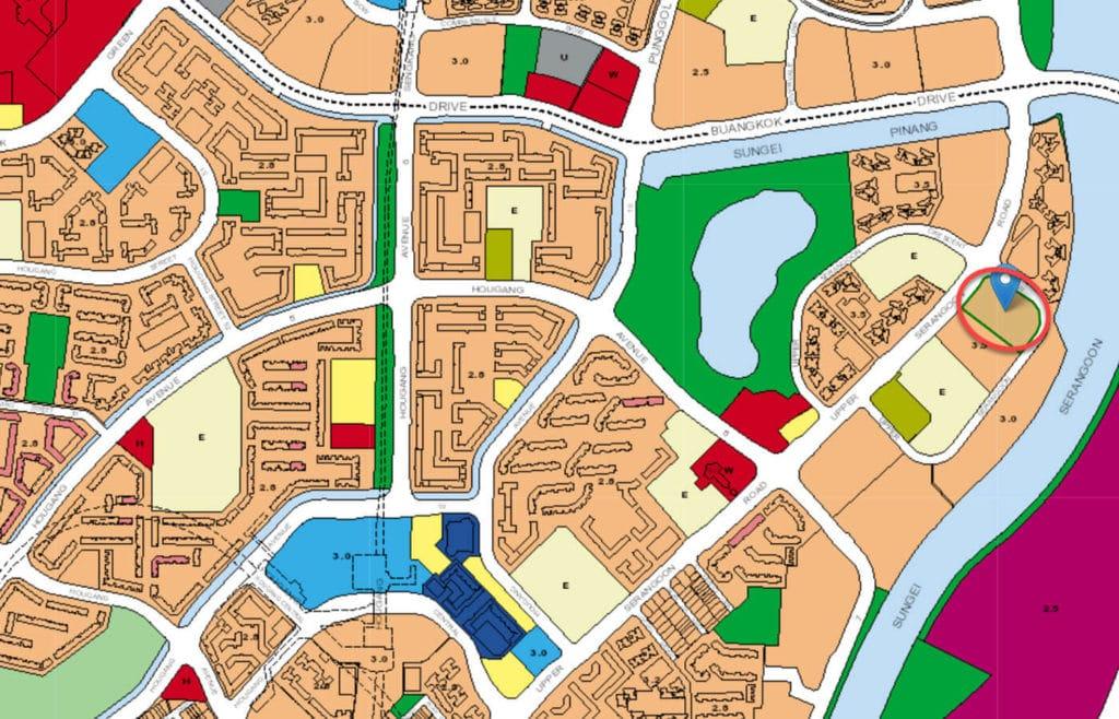 Heron Bay EC URA Master Plan Map
