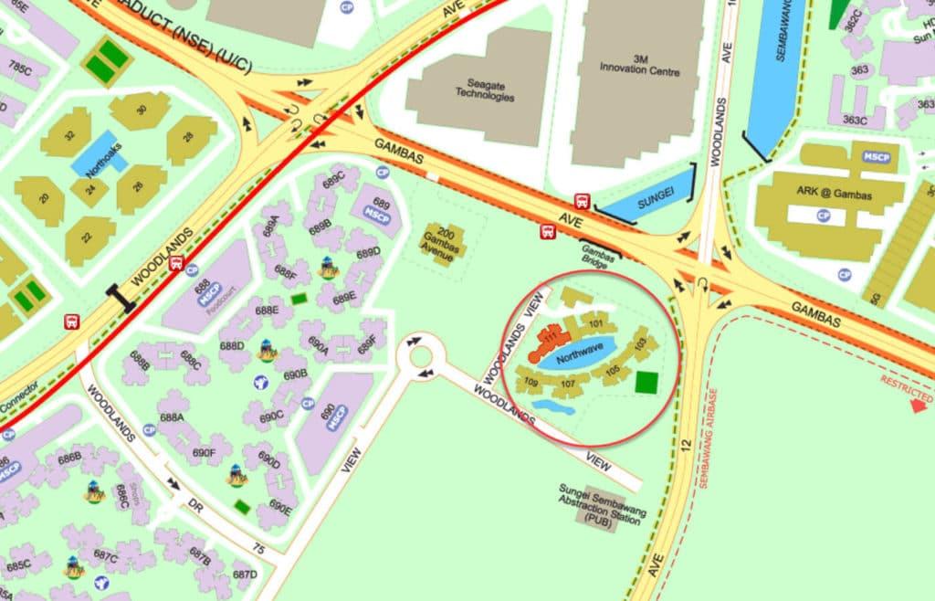 Northwave EC Street Directory Map