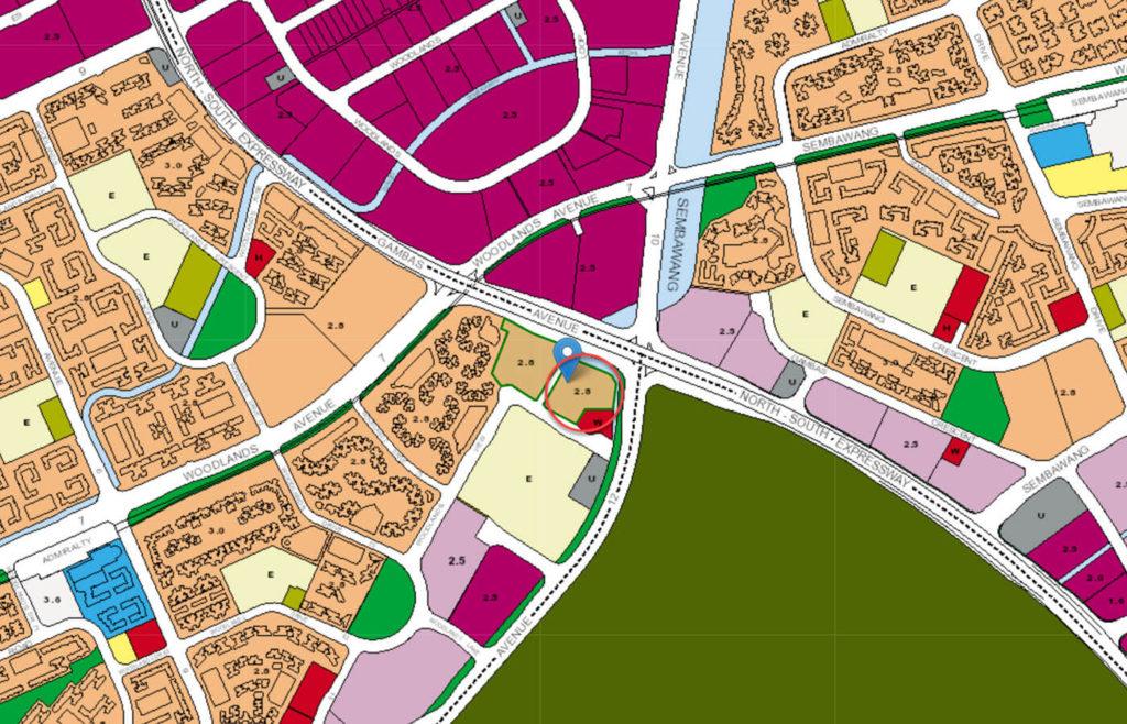 Northwave EC URA Master Plan Map