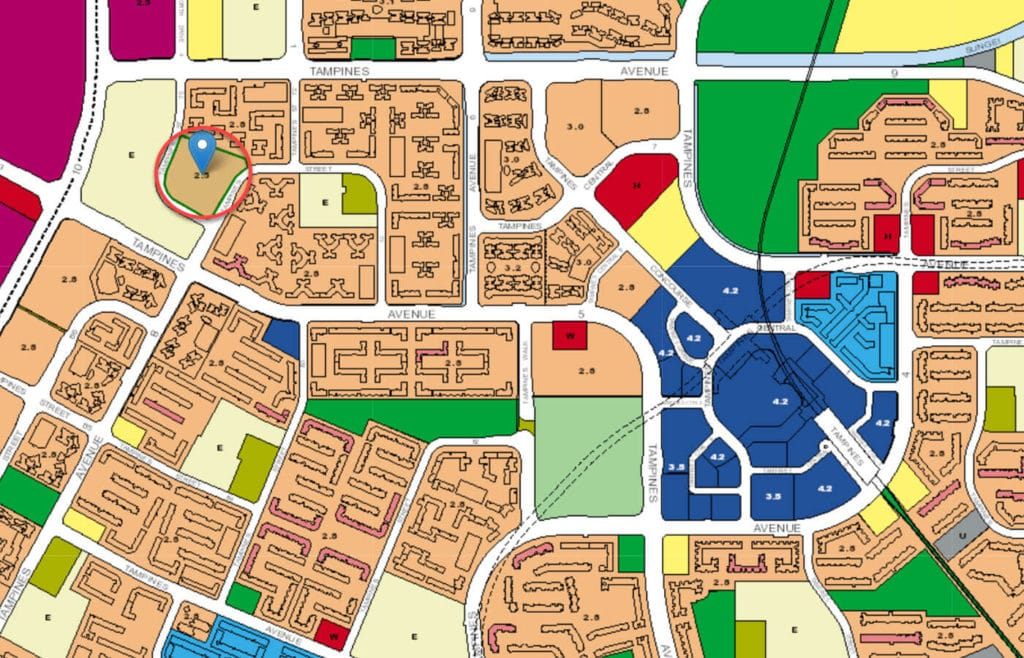 Pinevale EC URA Master Plan Map