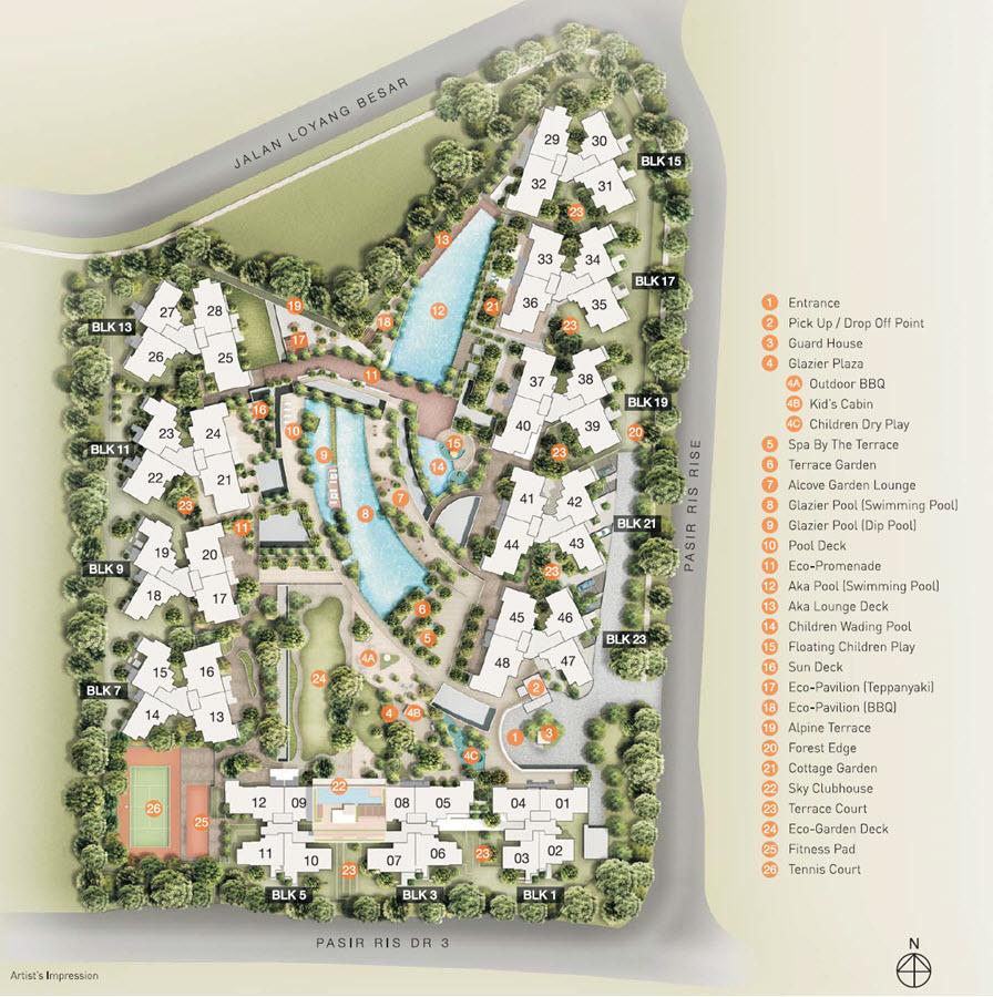 Sea Horizon EC Site Plan