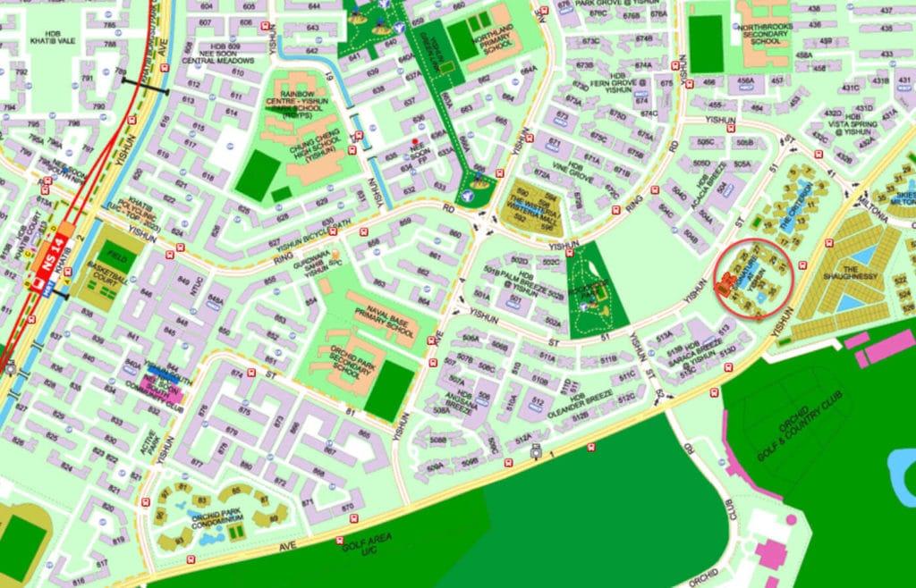 Signature At Yishun EC Street Directory Map
