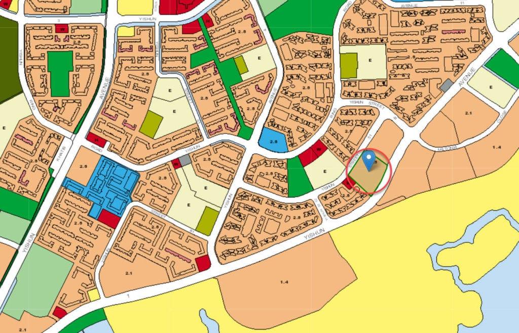 Signature At Yishun EC URA Master Plan Map