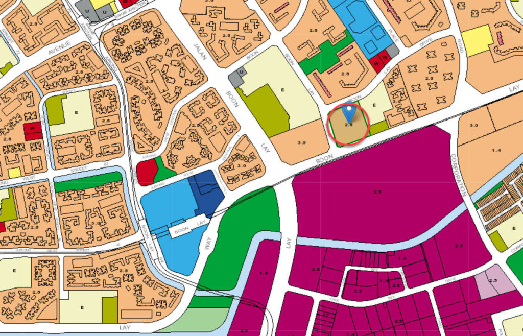 Summerdale EC URA Master Plan Map