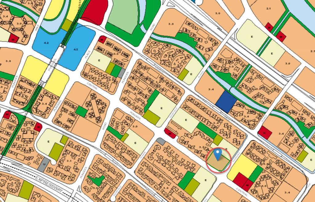 The Amore EC URA Master Plan Map