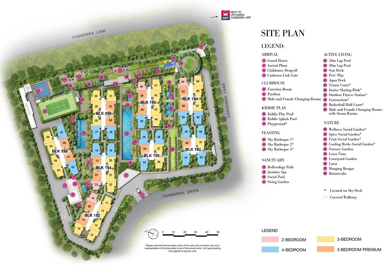 The Brownstone EC Site Plan