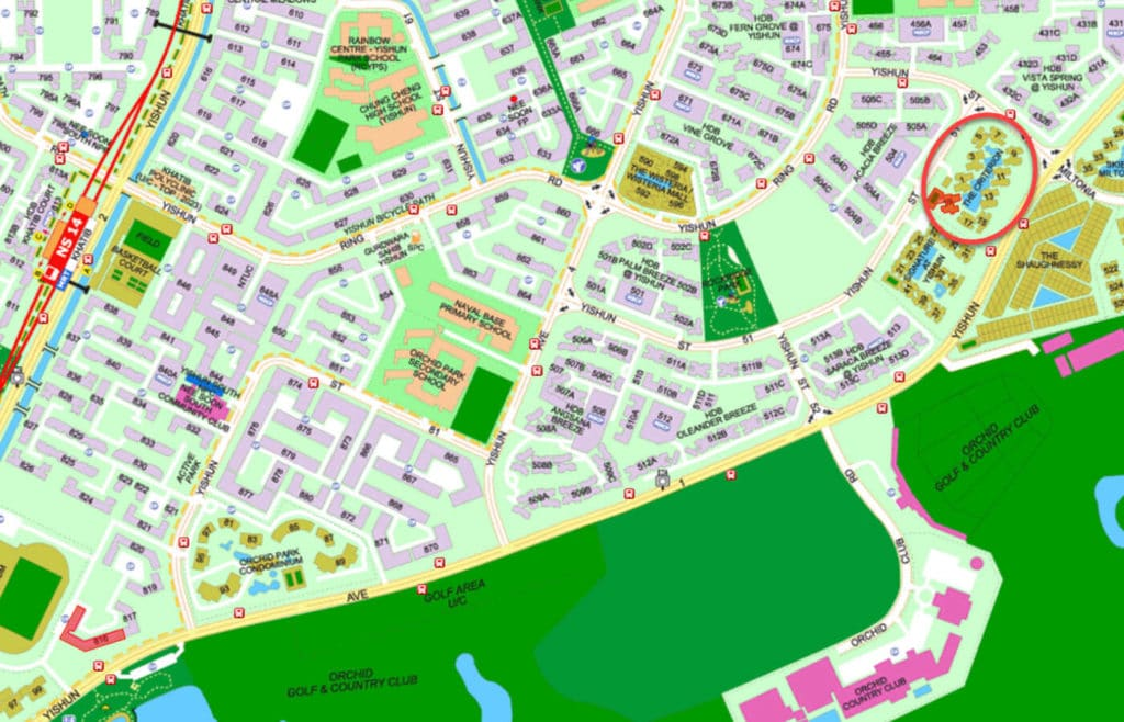 The Criterion EC Street Directory Map