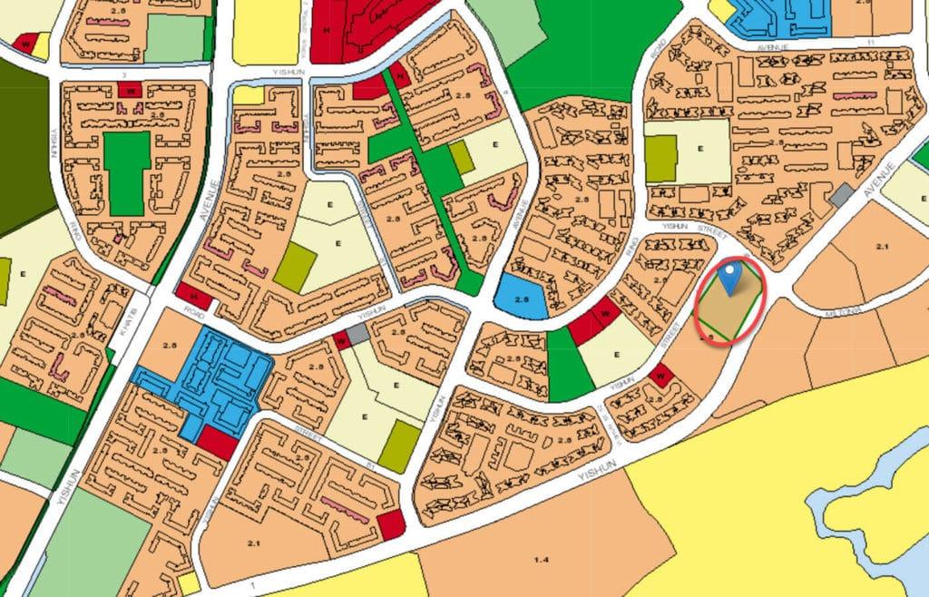 The Criterion EC URA Master Plan Map