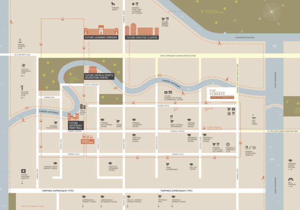 The Terrace EC Location Map
