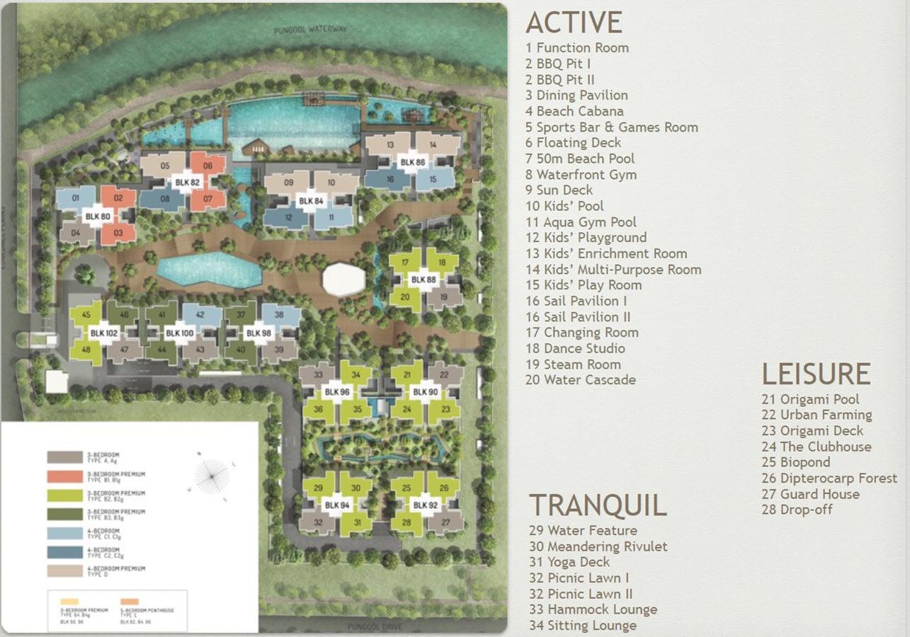 The Terrace EC Site Plan