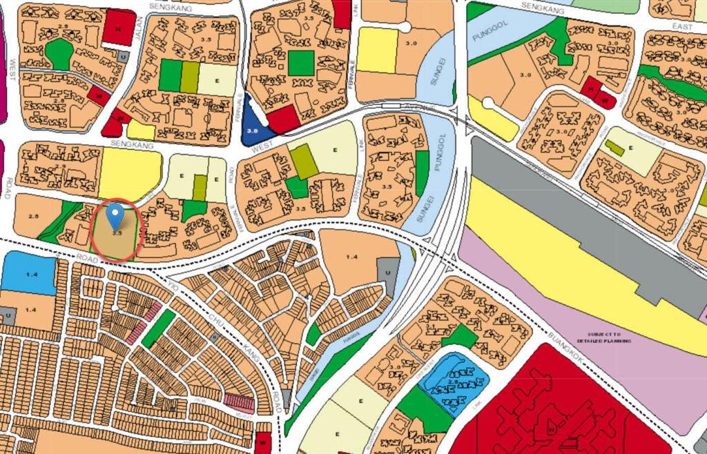The Topiary EC URA Master Plan Map