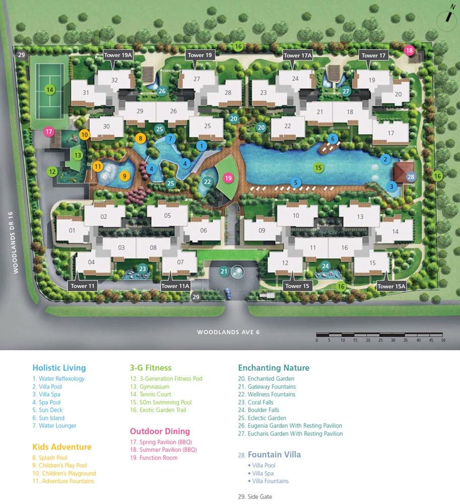 Twin Fountains EC Site Plan