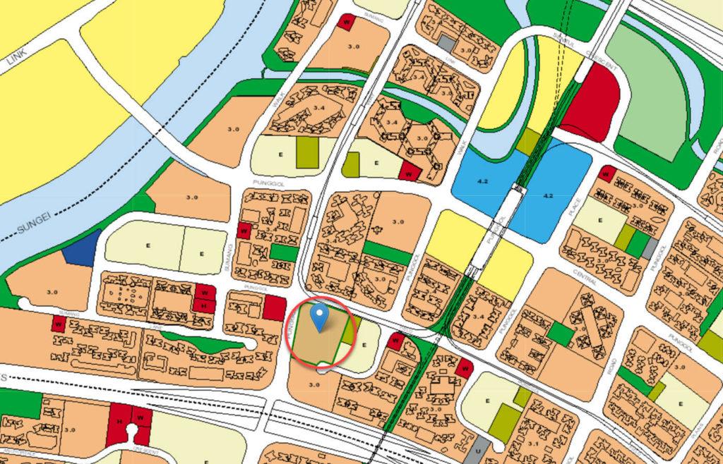 Twin Waterfalls EC URA Master Plan Map