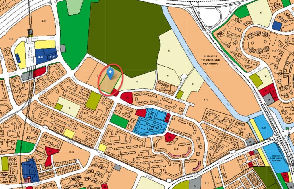 Wandervale EC URA Master Plan Map