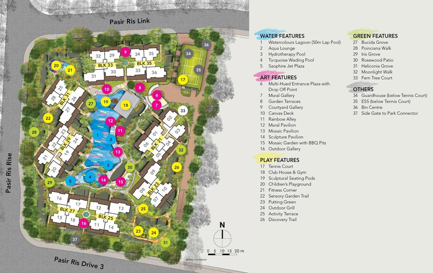 WaterColours EC Site Plan