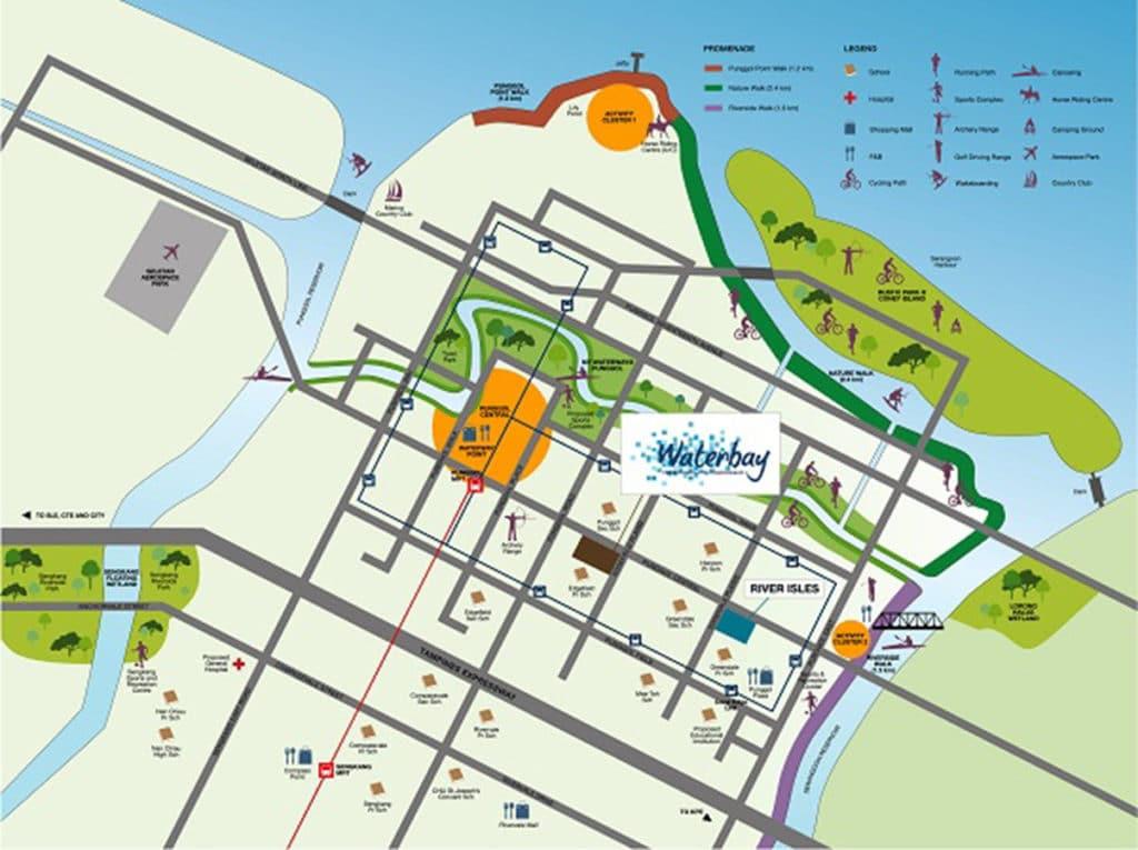 Waterbay EC Location Map