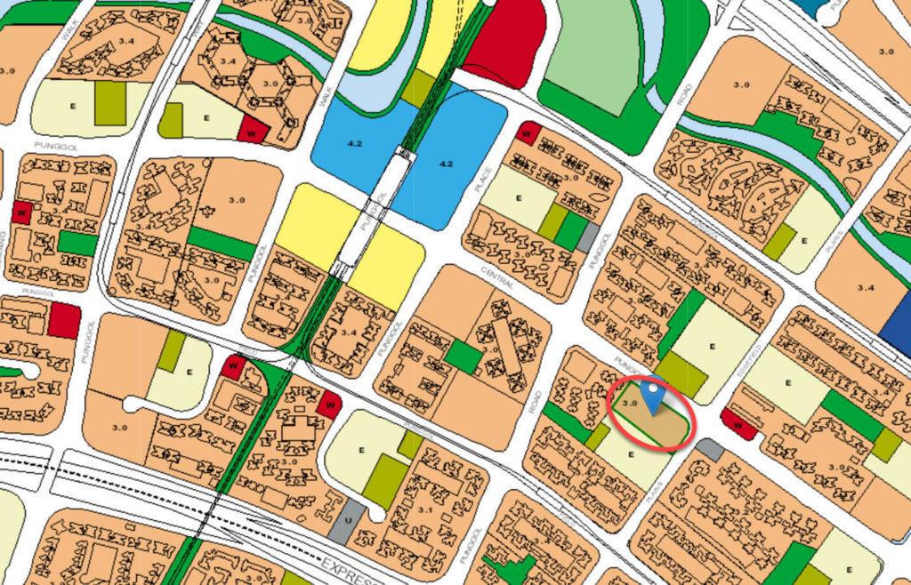 Waterbay EC URA Master Plan Map