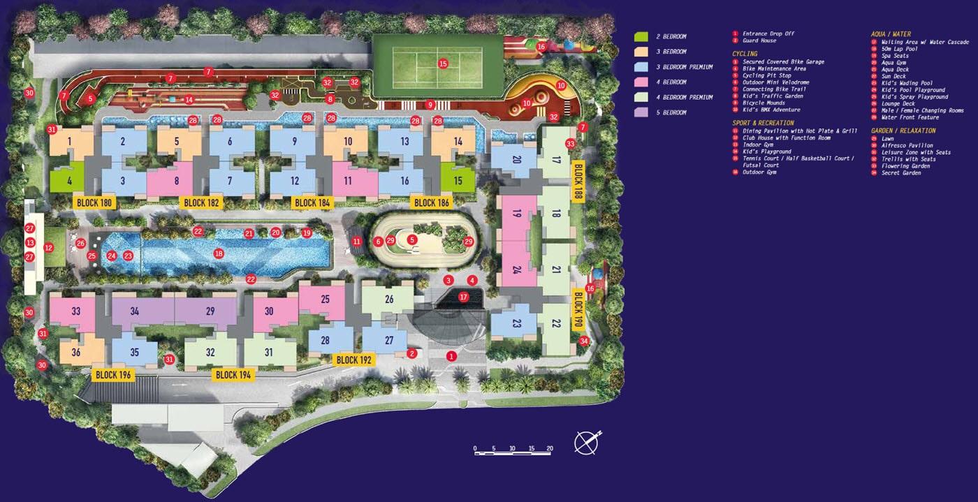 Westwood Residences EC Site Plan