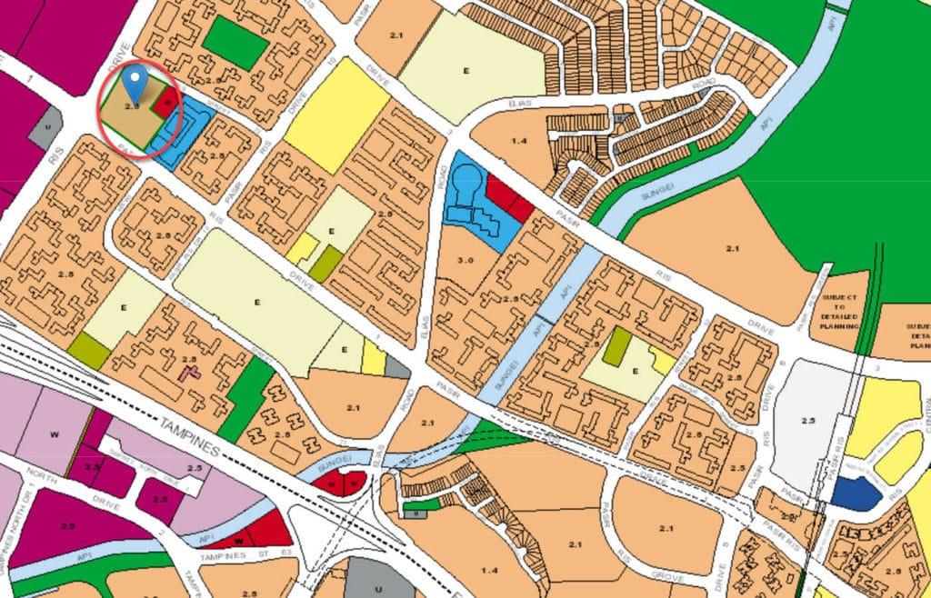 Whitewater EC URA Master Plan Map